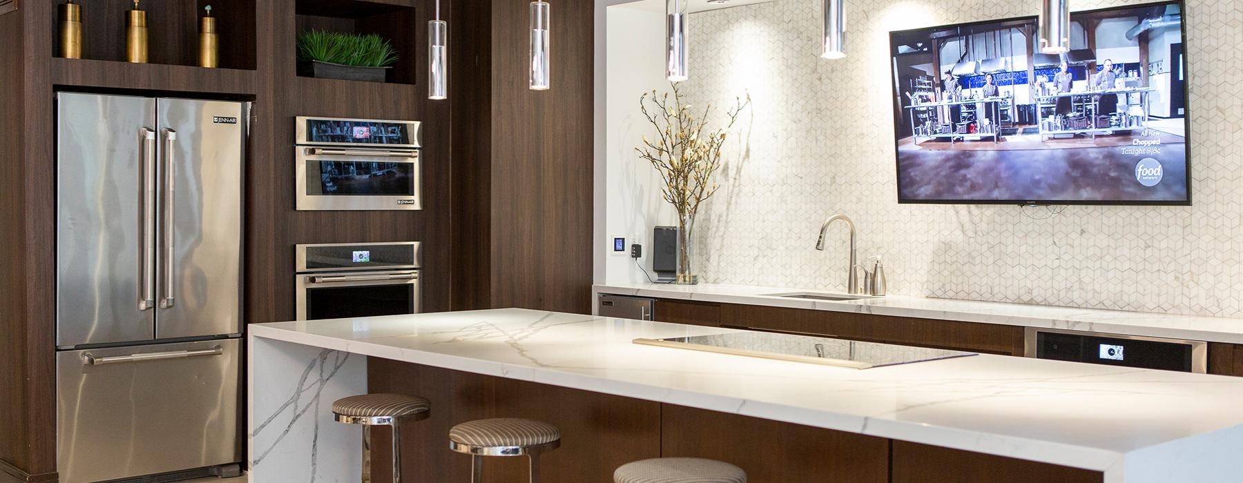resident kitchen area